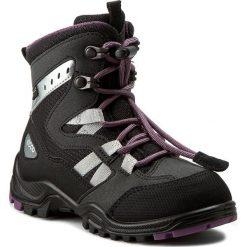 Śniegowce ECCO - Xpedition Kids GORE-TEX 70465251052 Black/Black. Czarne buty zimowe chłopięce marki ecco, z gore-texu, na sznurówki. W wyprzedaży za 319,00 zł.
