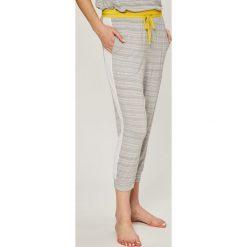 Dkny - Spodnie piżamowe. Szare piżamy damskie marki DKNY, l, z dzianiny. W wyprzedaży za 149,90 zł.