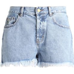 LOIS Jeans SANDRA Szorty jeansowe eighties stone. Niebieskie jeansy damskie marki LOIS Jeans, z bawełny. Za 379,00 zł.