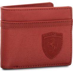 Duży Portfel Męski PUMA - Sf Ls Wallet M 053390 02 Bossa Nova. Czerwone portfele męskie Puma, ze skóry ekologicznej. W wyprzedaży za 139,00 zł.