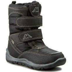 Buty zimowe chłopięce: Śniegowce KAPPA – Tundra Tex 260484K Black 1111