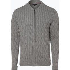 Tommy Hilfiger - Kardigan męski, szary. Szare swetry rozpinane męskie TOMMY HILFIGER, l, z bawełny. Za 579,95 zł.