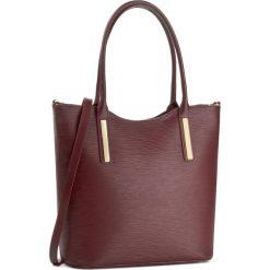 Torebka CREOLE - K10294  Bordowy. Czerwone torebki klasyczne damskie Creole, ze skóry. W wyprzedaży za 259,00 zł.