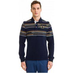 Galvanni Koszulka Polo Męska Bundaberg M, Ciemnoniebieski. Czarne koszulki polo marki GALVANNI, m, w kolorowe wzory, z bawełny. W wyprzedaży za 219,00 zł.