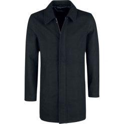 Shine Original Philadelphia - Wool Coat Płaszcz czarny. Czarne płaszcze na zamek męskie marki Shine Original, xxl. Za 399,90 zł.