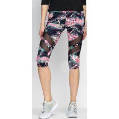 Spodnie damskie: Różowe Legginsy Soundscape