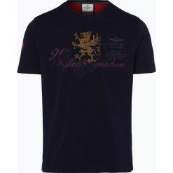 T-shirty męskie z nadrukiem: Aeronautica – T-shirt męski, niebieski