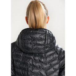 Columbia POWDER LITE LIGHT HOODED JACKET Kurtka Outdoor black print. Szare kurtki damskie marki Columbia, z dzianiny. W wyprzedaży za 374,25 zł.