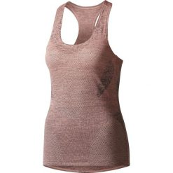 Bluzki damskie: Adidas Koszulka damska Jacquad Tank różowa r. M (BQ5865)