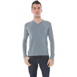 Sweter w kolorze szarym. Niebieskie swetry klasyczne męskie marki GALVANNI, l, z okrągłym kołnierzem. W wyprzedaży za 319,95 zł.
