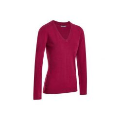 Swetry klasyczne damskie: Sweter do golfa 100 różowy