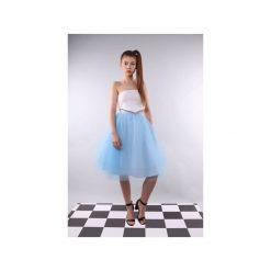 Spódniczki trapezowe: Spódnica tiulowa Pavlova baby blue