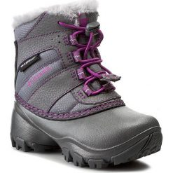 Kozaki dziewczęce: Śniegowce COLUMBIA – Childrens Rope Tow III Waterproof BC1323  Szary