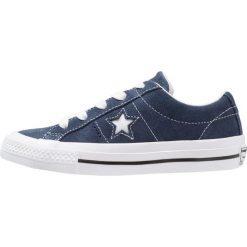Converse ONE STAR JUNIOR Tenisówki i Trampki navy/white. Niebieskie trampki chłopięce marki Converse, z materiału. Za 229,00 zł.