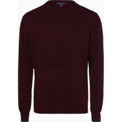Andrew James - Sweter męski z dodatkiem kaszmiru, czerwony. Czerwone swetry klasyczne męskie Andrew James, l, z kaszmiru. Za 229,95 zł.