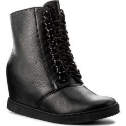 Sneakersy GINO ROSSI - Taniko DTH618-Y30-HN00-9900-F 99. Czarne sneakersy damskie Gino Rossi, z materiału. W wyprzedaży za 299,00 zł.