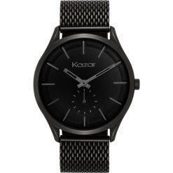 Zegarek męski. Czarne zegarki męskie Kazar, metalowe. Za 599,00 zł.
