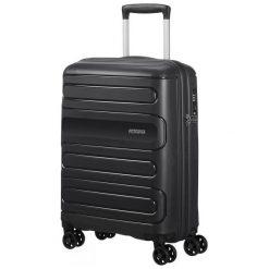 American Tourister Walizka Podróżna Sunside 55 Cm Czarna. Czarne walizki marki American Tourister. Za 368,00 zł.