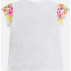 Mayoral - Top dziecięcy 92-134 cm. Różowe bluzki dziewczęce bawełniane marki Mayoral, z okrągłym kołnierzem. Za 79,90 zł.