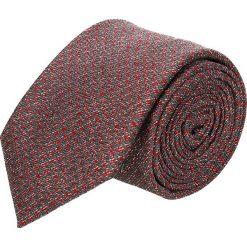 Krawat platinum bordo classic 215. Brązowe krawaty męskie Recman. Za 49,00 zł.