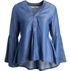 Bluzki asymetryczne: Aaiko BERNELLE TEN  Bluzka blue