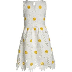 Sukienki dziewczęce: Derhy SIDONIE ROBE DAISY Sukienka koktajlowa blanc