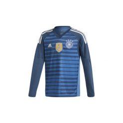 T-shirty z długim rękawem Dziecko adidas  Podstawowa koszulka bramkarska reprezentacji Niemiec. Niebieskie t-shirty chłopięce z długim rękawem Adidas. Za 149,00 zł.