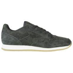 Skórzane buty sportowe w kolorze ciemnozielonym. Brązowe buty sportowe męskie marki Reebok, z materiału. W wyprzedaży za 289,95 zł.