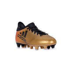 Buty do piłki nożnej adidas  X 17.3 SG. Brązowe buty skate męskie Adidas, do piłki nożnej. Za 267,58 zł.