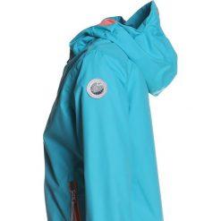 Icepeak TETTA  Kurtka przeciwdeszczowa turquoise. Niebieskie kurtki dziewczęce przeciwdeszczowe Icepeak, z materiału, sportowe. Za 249,00 zł.