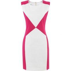 Sukienki hiszpanki: Sukienka w kolorze biało-różowym