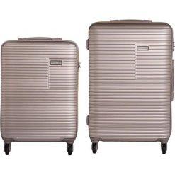 Zestaw walizek Madryt 20/24 Mała/Średnia. Szare walizki marki VIP COLLECTION, małe. Za 716,38 zł.