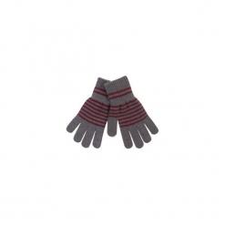 Rękawiczki damskie w paski. Czarne rękawiczki damskie TXM, w paski. Za 7,99 zł.