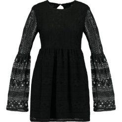 Sukienki: Missguided FLARED SLEEVE SKATER DRESS Sukienka letnia black