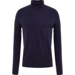 BOSS CASUAL KUPETTO Sweter dark blue. Niebieskie swetry klasyczne męskie BOSS Casual, m, z bawełny. Za 539,00 zł.