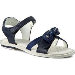 Sandały dziewczęce: Sandały GEOX – J Sand.Giglio B J62E2B 054AS C4002 Navy D