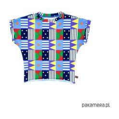 Bluzki, topy, tuniki: t-shirt kimono loca
