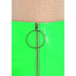 Minispódniczki: Jaded London ZIP FRONT Spódnica mini neon green