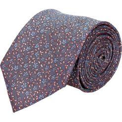 Krawat platinum niebieski classic 247. Niebieskie krawaty męskie Recman. Za 49,00 zł.