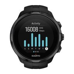 Zegarek unisex Suunto Spartan Sport Wrist All Black HR SS022662000. Brązowe zegarki męskie marki Orsay, s, z dzianiny. Za 2199,00 zł.