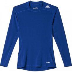 Adidas Koszulka męska Techfit Base Long Sleeve niebieska r. S (AJ5018). Niebieskie t-shirty męskie marki Adidas, m, techfit (adidas). Za 119,00 zł.