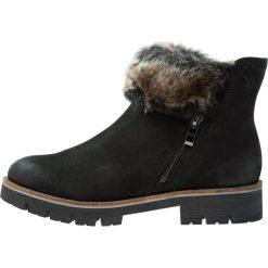 Buty zimowe damskie: Caprice Botki black