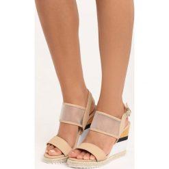 Rzymianki damskie: Beżowe Sandały Little Miss
