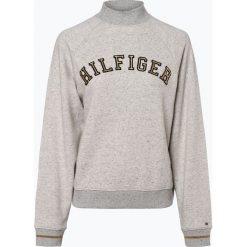 Bluzy damskie: Tommy Hilfiger - Damska bluza nierozpinana, szary