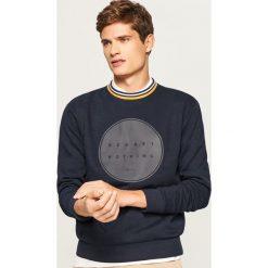 Bluza z fantazyjnym ściągaczem - Granatowy. Czerwone bluzy męskie rozpinane marki KALENJI, m, z elastanu, z długim rękawem, długie. Za 99,99 zł.