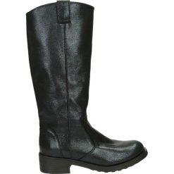 Kozaki - 5028 STAR BLU. Czarne buty zimowe damskie marki Venezia, z nubiku. Za 249,00 zł.