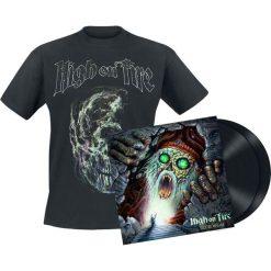 High On Fire Electric messiah 2 LP + T-Shirt standard. Czarne t-shirty damskie marki High On Fire, l, z bawełny. Za 171,90 zł.
