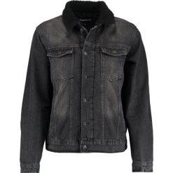 Kurtki męskie bomber: YOURTURN Kurtka jeansowa black denim