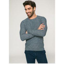Medicine - Sweter City Rhythmes. Szare swetry klasyczne męskie MEDICINE, xl, z bawełny, z okrągłym kołnierzem. W wyprzedaży za 39,90 zł.