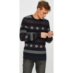 Selected - Sweter. Szare swetry klasyczne męskie marki Selected, l, z materiału. Za 219,90 zł.